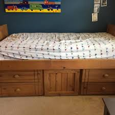 Best Wickes Solid Wood Twin Captain s Bed for sale in Lewisville