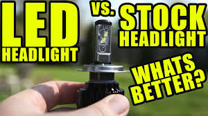 led vs halogen motorcycle headlights whats better