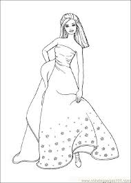 Sheets Barbie Coloring Pages Online Free 59 About Remodel Books With