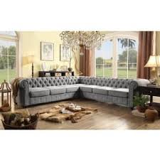 Extra Deep Seated Sectional Sofa by Vintage Sectional Sofas For Less Overstock Com
