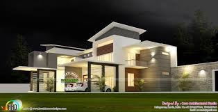 100 Modern Contemporary House Design 5 Bedroom Modern Contemporary House Kerala Home Design And