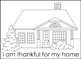 Coloring Pages Of Houses And Buildings House Printables
