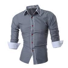 popular dress shirt men buy cheap dress shirt men lots from china