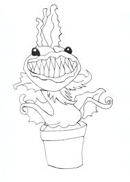 Chewlin Free Coloring Sheet CLICK HERE TO PRINT Printable Monster High Venus McFlytraps Pet