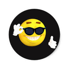 Face Thumbs Up Emoji Stickers
