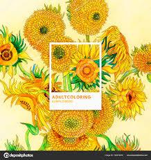 Tournesols 1889 Par Vincent Van Gogh Coloriage Adulte Photographie