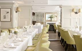 Restaurant Chiswell Street Dining Rooms Venue Hire EC1 The Cornwallis Room Is Largest Private