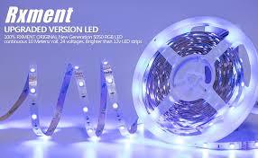 rxment led lighting 10m 32 8 ft 5050 rgb 300leds