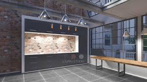 interior design in industrial style lavriv studio