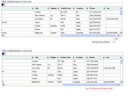 Scrollable Fixed Header Table – A JQuery Plugin