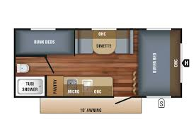 5th Wheel Campers With Bunk Beds by Bunk Beds Used Class C Motorhomes Under 20 000 Four Winds 28z