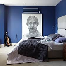 Full Size Of Bedroomdazzling Navy Blue Cabinet And Stylish Platform Bed Modern Bedroom Decorating Large