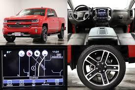 100 Trucks For Sale Springfield Mo Used 2016 Chevrolet Silverado 1500 LTZ Crew Cab 4X4 Heated Cooled