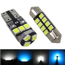 wljh 6pcs car led light 12 auto l bulb interior lights package
