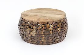 couchtisch metall holz tisch beistelltisch steinmuster wohnzimmertisch gold dynamic 24 de