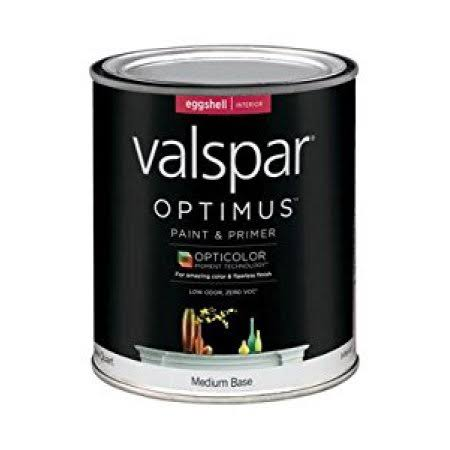 Valspar Optimus Paint And Primer Acrylic - Eggshell Medium Base