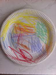 Paper Plate Snake Kids Craft Art Crayon