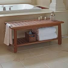 inspiring bathroom bench ideas bathroom bathroomfurniture