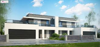 100 Semi Detached House Design Design Zb16 Modern Semidetached House With Two