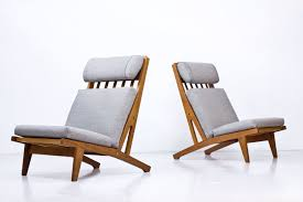 Pair Of Scandinavian Modern Ge 375 Lounge Chairs By Hans J. Wegner For  Getama, Denmark Pair Of Scdinavian Lounge Chair Teak And Cane Danke Galerie Hw Klein Australia Ftland Design Vintage Mid Century Modern Profile Reclinerslounge Chairs In Teak Leather By Folke Ohlsson For Dux Sweden Aymerick Bentwood Lounge Danish Olive Velvet On Sculptural Base A Oak 1970s Classic Designed For Sale Scdinavian Chairs 1960s Stunning 65727