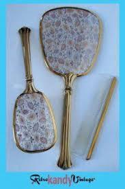 Vanity Mirror Dresser Set by 138 Best Vintage Vanity Set Mirror Brush U0026 Comb Images On
