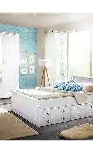 weißes schlafzimmer set sadanos im landhausstil mit