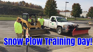 100 How To Plow Snow With A Truck Training Day To Use S Equipment