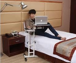 Table Alluring Laptop Bedside Table Desk Laptop Bedside Table