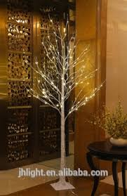 LED Birch Tree Warm White 8ft Cheap Christmas Artificial Decorative