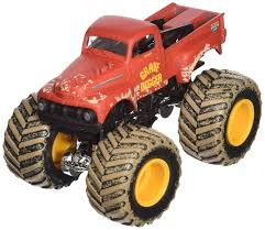 Amazon.com: 2013 Monster Jam Grave Digger (Red 1952 Ford) (Includes ...