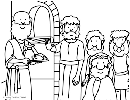Daniel Refused The Kings Food Coloring Page Crafting Word Of God