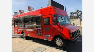 Love Food Trucks? Here Are The Top 3 Mobile Joints To Check Out In ... Where Do Food Trucks Go At Night Street For Haiti Roaming Hunger Paradise Truck Los Angeles Catering Jim Dow Tacos Jessica Taco East California 2009 The Best Food Trucks In City Cooks Up Plan To Help Restaurants Park Labrea News Beverly Miami 82012 Update Roadfoodcom Discussion Board Book A Rickys Fish Fashionista 365 Los Angeles 241 Lots Of Cart Best Resource Condiments From Taco Truck Stock Photo 49394118