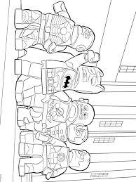 Lego Batman Coloring Pages For Boys 13