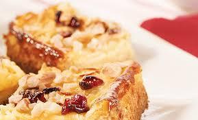 apfel mandelkuchen mit cranberries