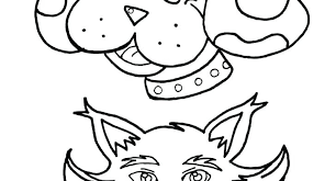 Coloring Page Of A Cat Pages Dog And Pictures Printable Caterpillar