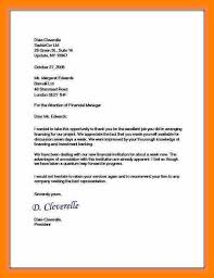 5 example business letter simple