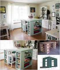 10 Cool DIY Craft Table Ideas for Your Craft Room