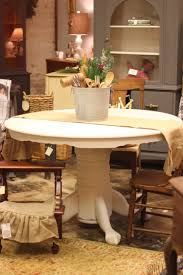 Antique Country Pedestal Table