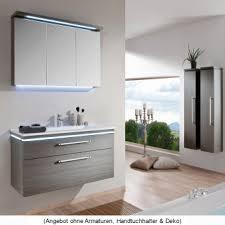 puris cool line badmöbel als set 90 cm mit spiegelschrank serie a