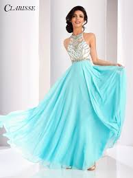 clarisse color block a line prom dress 3069 unique vintage lace