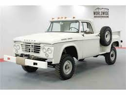 1964 Dodge Power Wagon For Sale | ClassicCars.com | CC-1083099 Dodge History 1960 To 1969 Country Chrysler Ram Jeep 1964 A100 Pickup Truck Custom 41965 Sport Special Trend W300 Truck With Drill Rig Item B5250 Sold Th Mopbarn 100 Specs Photos Modification Info At 1964dodged300 Hot Rod Network Dreamtruckscom Whats Your Dream Trucks Heavy Duty Tilt Cab Models Nl Nlt 1000 Sales Wsies_dodower_won_page 1966 Forward Control Bagged Rat Rides Pinterest Pickup