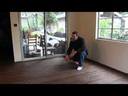 dark stain hardwood floor refinishing bend oregon youtube