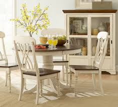 Round Dining Room Set For 4 by Homelegance Ohana 4 Piece Round Dining Room Set In White Cherry