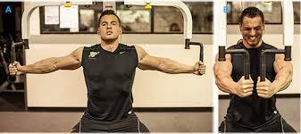 Pec Deck Exercise Alternative by Ryan Hughes U0027 Power Pecs Chest Workout