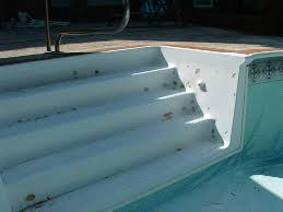 Fiberglass Bathtub Refinishing Atlanta by Inlay Mats And Pool Steps Quality Resurfacing Atlanta Ga