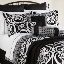 Blue And Black Damask Bedding Foter