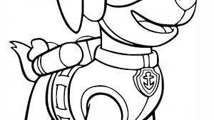 Well Suited Skye Paw Patrol Coloring Pages PAW Free Of Sky