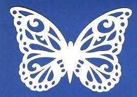Butterfly Cut Out Template Simple But Amazing One Piece Paper Art 5 Steps Cutting Designs Ou