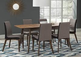 atlantic bedding and furniture annapolis natural walnut dining