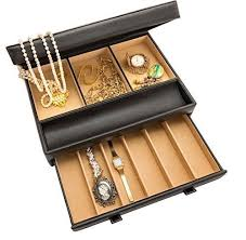 Dresser Valet Watch Box by Shop Menu0027s Jewelry Boxes And Valets Cigar Box Jewelry Box